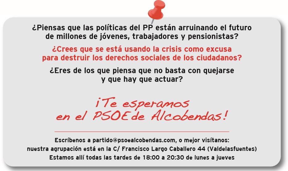 posit PSOE Alcobendas
