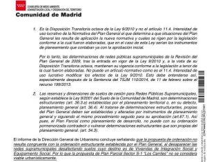 Informe Comunidad de Madrid