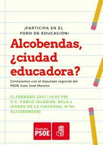 ALCOBENDAS, ¿CIUDAD EDUCADORA_