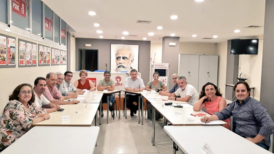 La Comisión Ejecutiva Municipal Del PSOE De Alcobendas Arranca El Curso Político En La Casa Del Pueblo