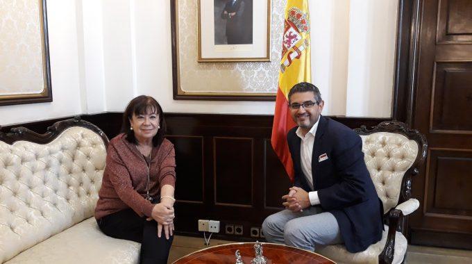 Rafael Sánchez Acera Se Reúne Con La Presidenta Del PSOE Para Abordar Políticas Medioambientales En Alcobendas