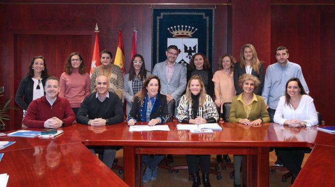 Directoras Y Directores De Los Colegios Públicos De Alcobendas Se Reúnen Con El Alcalde Y Las Concejalas De Educación Y Medio Ambiente
