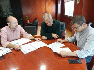 Reunión previa a las asambleas de distrito de los responsables de Participación Ciudadana con el alcalde