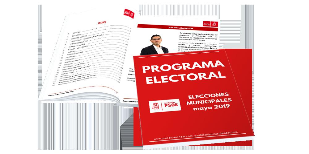 Programa electoral PSOE Alcobendas