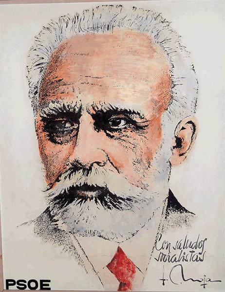 Fundador PSOE Pablo Iglesias