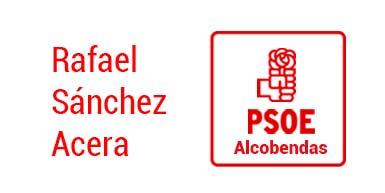 Logo Psoe Rafael Sánchez Acera