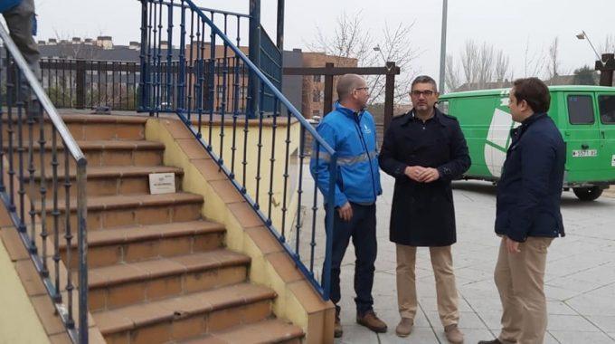 """Rafel Sánchez Acera: """"hemos Invertido 50.000€ Para El Acondicionamiento Del Parque Cataluña"""""""