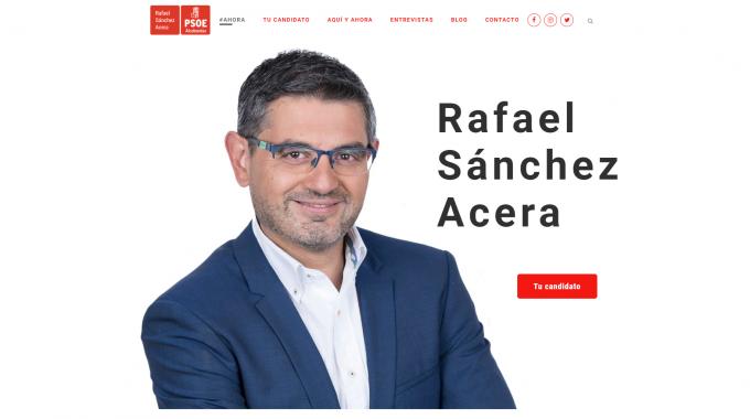 Rafael Sánchez Acera Lanza Su Nueva Página Web, Más Cercana, Transparente E Innovadora