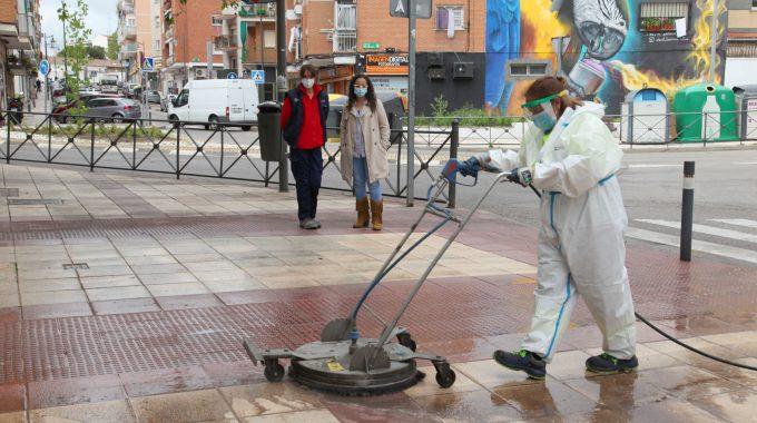 El Gobierno Municipal Incorpora Tres Máquinas Hidrolimpiadoras Para Garantizar La Limpieza En Alcobendas