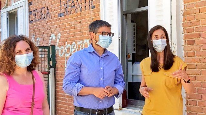 Rafael Sánchez Acera Visita La Escuela Infantil La Chopera Con Motivo De Su Reapertura