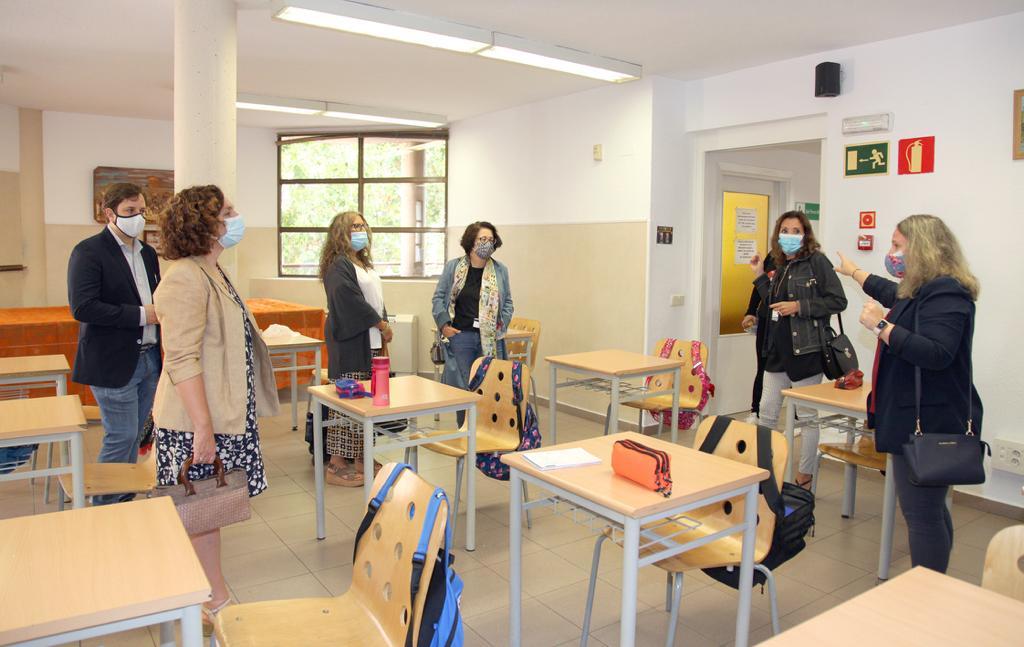 colaboración, educación, coronavirus, COVID-19, compromiso, responsabilidad, cesión de espacios, escuela,