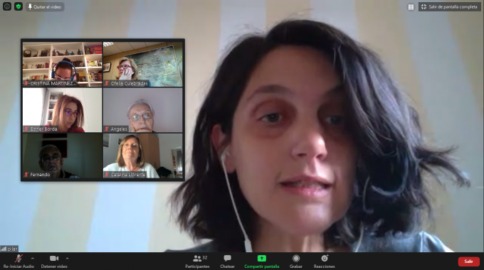 La Diputada Pilar Sánchez Acera Aborda En Un Encuentro Con La Militancia La Situación Sanitaria De La Comunidad De Madrid