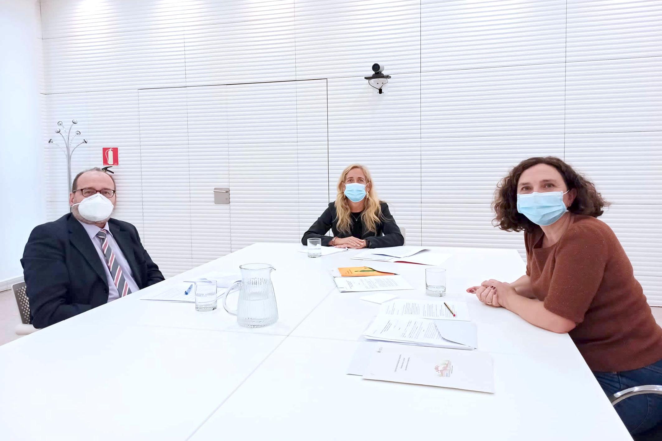 reunión de coordinación con la Consejería de Eduacación