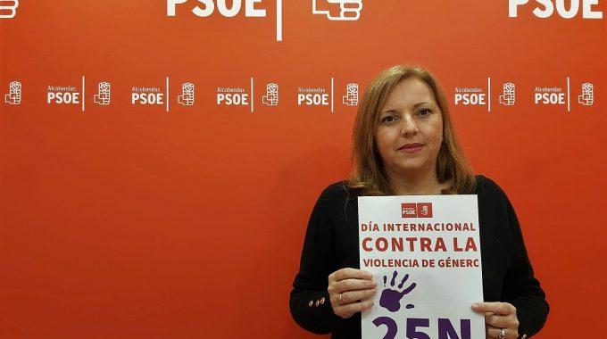PSOE Alcobendas Campaña Rechazo Violencias Machistas