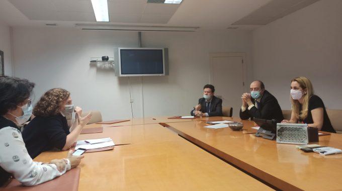 Reunión Con La Consejería De Educación Para Tratar La Reforma Del CEIP Gª Lorca
