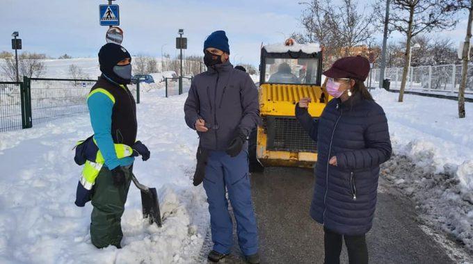Información De Servicio Público Por El Temporal De Nieve