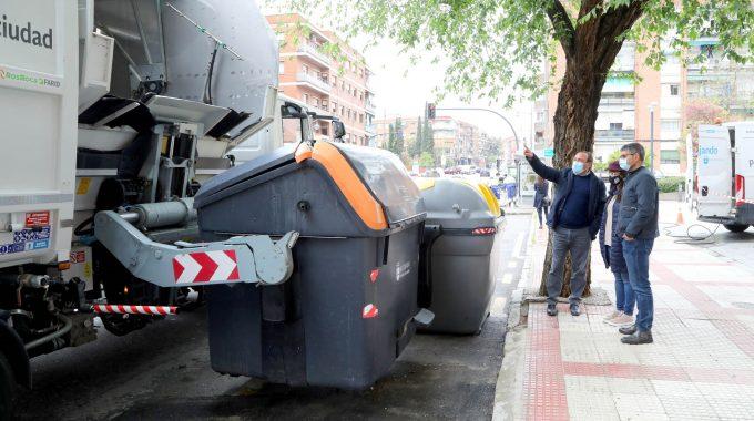 Alcobendas Amplía El Servicio Municipal De Limpieza De Contenedores De Residuos