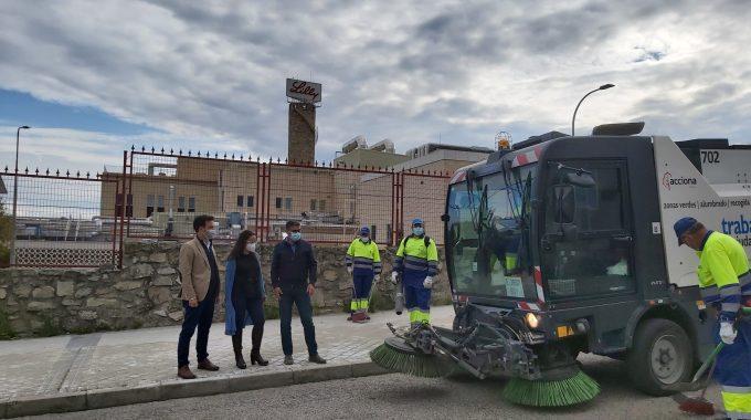 La Ampliación De Las Rutas Y Servicios De Limpieza En El Polígono Industrial De Alcobendas, En Marcha