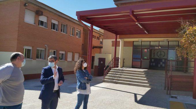 Las Obras Estructurales De Los Colegios Antonio Machado Y Tierno Galván Ya Han Concluido