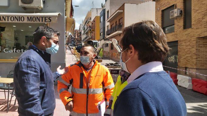La Remodelación De Las Calles Cádiz, Zamora, Quevedo Y León Pérez Bayo, En Marcha