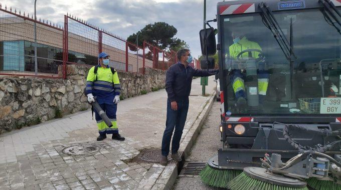 42 Nuevos Trabajadores Y 14 Vehículos Más Velan Por La Limpieza De Alcobendas