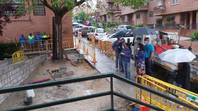 Resuelta La Demanda Histórica De Accesibilidad En La Calle Luis Rodríguez Ontiveros
