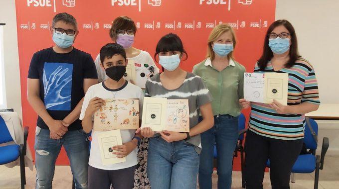 Entrega De Los Premios De Los Concursos De Microrrelatos Y Dibujo Por La Igualdad Del PSOE De Alcobendas