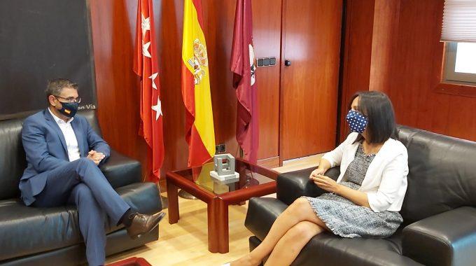 La Delegada Del Gobierno En Madrid Visita Alcobendas